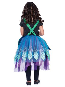Child Ride On Peacock Costume - Side View