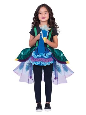 Child Ride On Peacock Costume - Back View