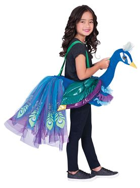 Child Ride On Peacock Costume