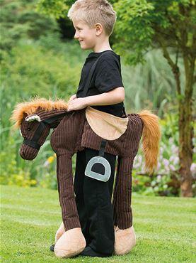 Child Ride On Pony Costume