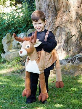 Child Ride On Reindeer Costume