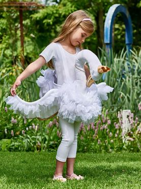 Child Ride On Swan Costume