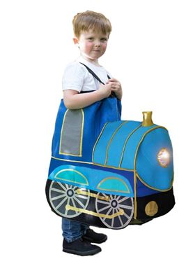 Child Ride On Train Light and Sound Costume - Back View