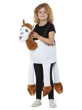 Child Ride-In Llama Costume - Back View