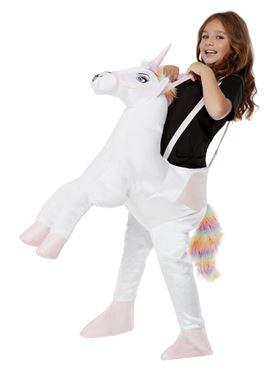 Child Ride-In Unicorn Costume - Back View