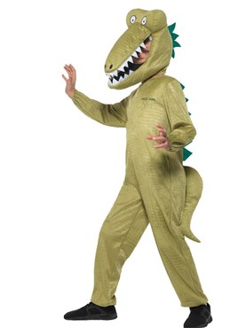 Child Roald Dahl Enormous Crocodile Costume