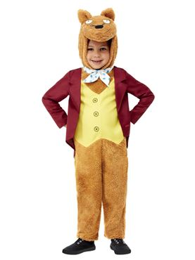 Child Roald Dahl Fantastic Mr Fox Costume - Side View