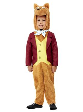 Child Roald Dahl Fantastic Mr Fox Costume - Back View