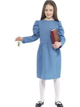 Child Roald Dahl Matilda Costume