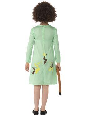 Child Roald Dahl Mrs Twit Costume - Back View