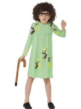 Child Roald Dahl Mrs Twit Costume