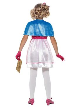 Child Roald Dahl Veruca Salt Costume - Side View