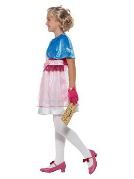 Child Roald Dahl Veruca Salt Costume - Back View