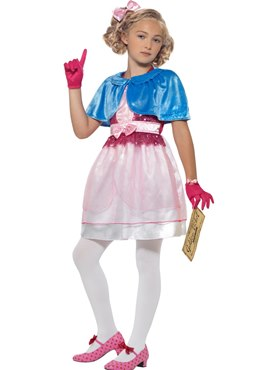 Child Roald Dahl Veruca Salt Costume