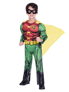 Child Robin Classic Costume - Side View