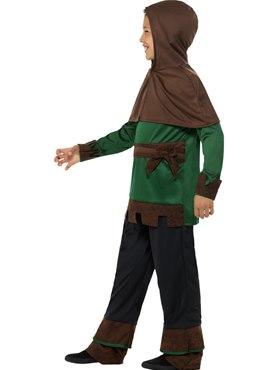 Child Robin Hood Costume - Back View