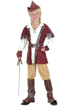 Child Deluxe Robin Hood Costume