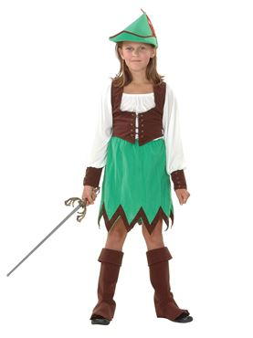 Child Robin Hood Girl Costume