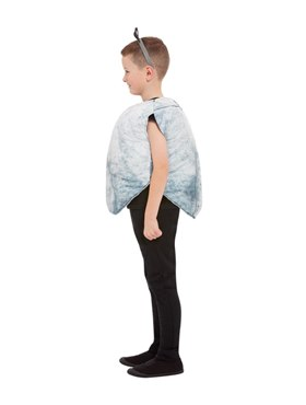 Child Rock Costume Costume - Back View