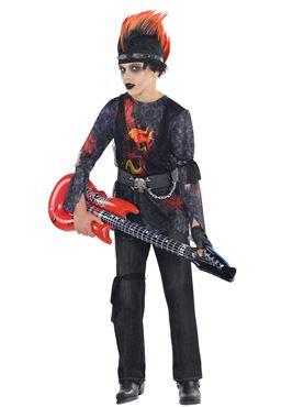 Child Rock Zombie Costume