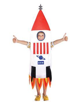 Child Rocket Ship Costume