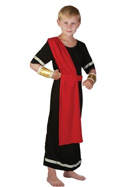 Child Roman Boy Caesar Costume