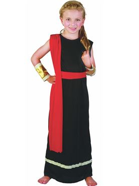 Child Roman Girl Costume