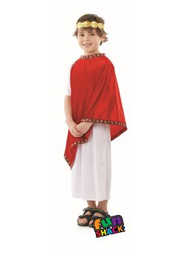 Child Roman Costume - Back View