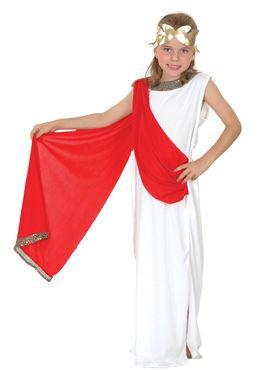 Child Roman Goddess Costume