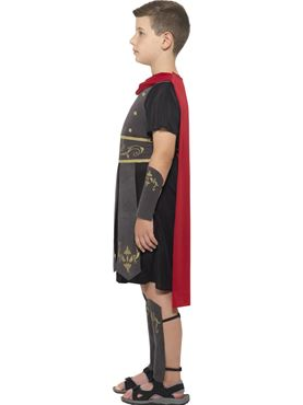 Child Roman Solider Costume - Back View