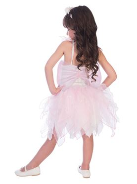 Child Rose Fairy Costume - Back View