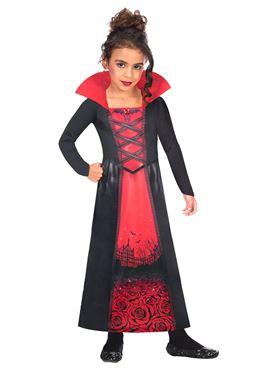 Child Rose Vampiress Sustainable Costume