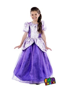 Child Royal Ball Gown Charlotte Costume