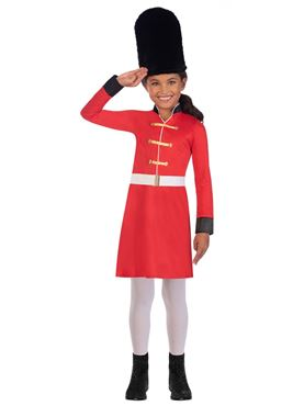 Child Royal Guard Girl Costume