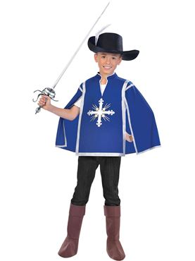 Child Royal Musketeer Costume