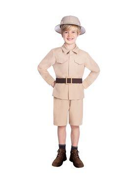 Child Safari Boy Costume
