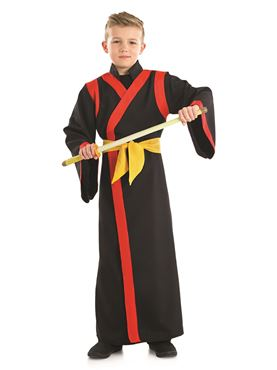 Child Samurai Boy Costume