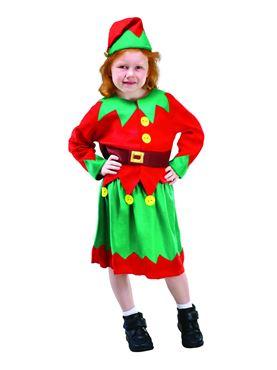 Child Santas Helper Costume