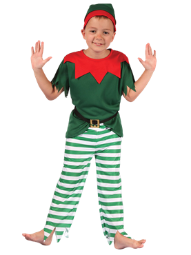 Child Santas Little Helper Costume Couples Costume
