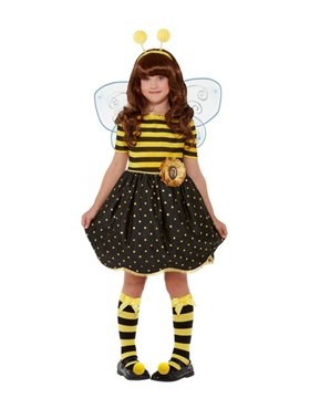 Child Santoro Bee Loved Costume - Back View