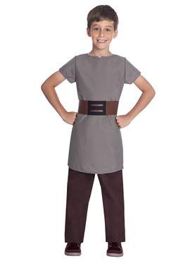 Child Saxon Boy Costume