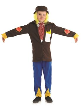 Child Scarecrow Boy Costume