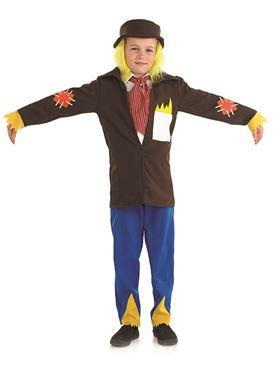 Child Scarecrow Boy Costume