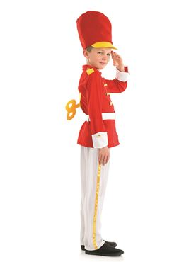 Child Tin Soldier Costume - Back View