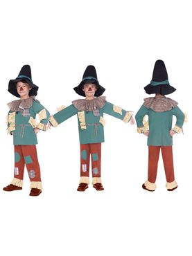 Child Scarecrow Costume - Side View