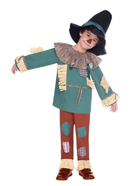 Child Scarecrow Costume - Back View