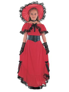 Child Scarlet O Hara Costume