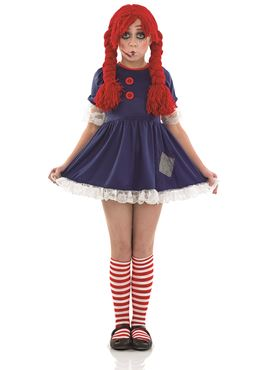 Child Scary Rag Doll Costume