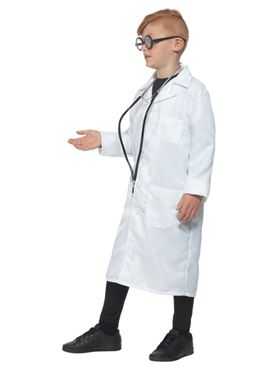 Child Scientist Costume - Back View