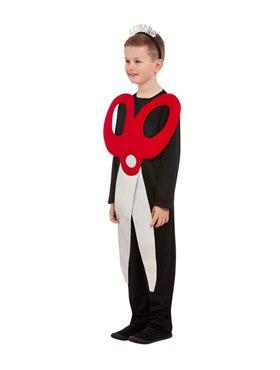 Child Scissors Costume - Back View